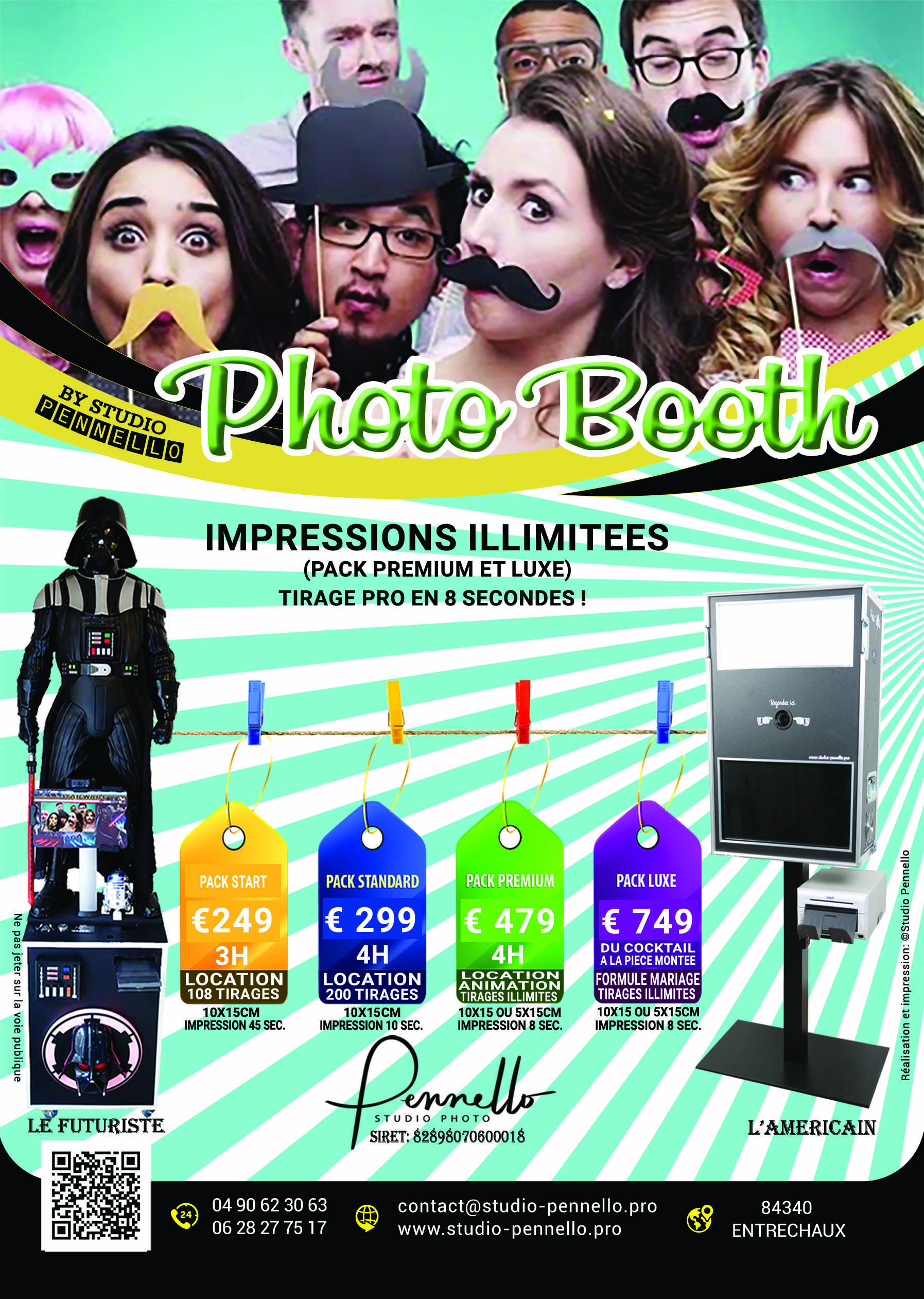 Photobooth Vaucluse Studio Pennello